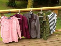 Nice quality lot of three jackets and tops....size 18