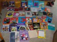 Hello, For Sale is a large lot of 40 homeschooling