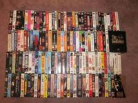 139 VHS with cases. Adult owned, non-smoker. Asking $70