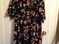 Lot of 5 Beautiful Dresses Petite 2X-3X in great