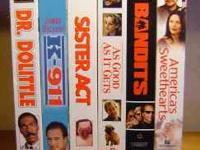 Lot of 6 - Movie Comedies - VHS Tapes As Good As It