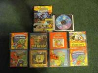 """Lot"" of PC Games for Children ""Clifford the Big Red"
