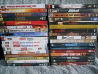 Bulk pricing available and DVD's not marked are $3.00: