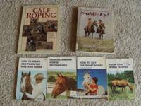Hello, For Sale is a lot of Horse books, the titles are