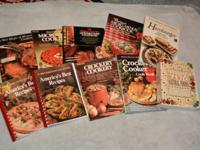 COLLECTION. OF. 10. COOKBOOKS. Rodale's Basic Natural