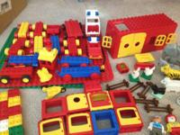 LOTS AND LOTS OF DUPLO BLOCKS! WONDERFUL PRICE! Great