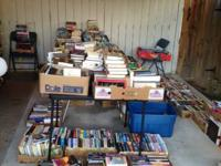 Scaling down and do not have room for all my books. I
