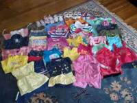 Lots of 12-2t girls clothing!!!! 1 pair of tennis