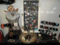 Orchid Boutique has a huge variety of necklaces,