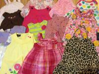 Baby lady clothes sz 0-3m through 18m. Most are 9m and