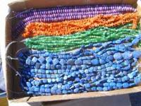 I am selling my large collection of mostly stone beads.