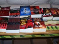 OVER 200 PAPERBACK BOOKS... FICTION, VARIED NOVELS PLUS