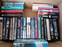 Lots of books for sale! I'm moving out of state next