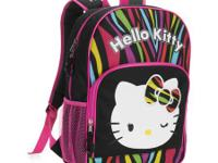 I have lots of brand new Hello kitty bookbags.  I also