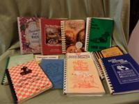 I have a bunch of cookbooks for sale. I am offering in