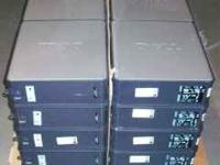 I have several Dell 620 towers with XP Pro SP3 or