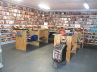 WE HAVE ALL KIND OF DVDS AVAILABLE ... THEY ARE IN