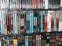LOTS OF DVDS AND SERIES AND SOME BLUERAYS KIDS,FAMILY