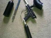 1 paintball gun. With A TON of extras. I have almost