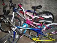 we have free style bikes and parts in our basement we