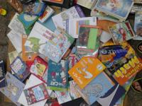 lots of fun books for kids. $2 each some $1. text or