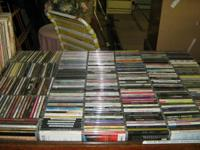 We have over 500 excellent pre-owned CDs, all