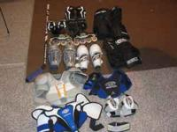 I have for sale lot's of hockey gear. Pants, gloves,