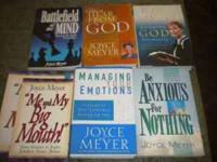 I have lots of Joyce Myers books I am only asking $30