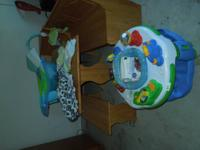 lots of baby stuff in excellent condition. exersaucer,