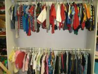 Previously loved children's clothing up for grabs...too