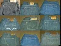 Lots of Levis pants to many to put on here $10 each in
