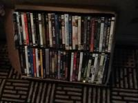 100 DVDs films of all kinds.  Numerous collectible