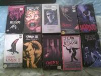 i have 133 movies for sell they are vhs i am asking