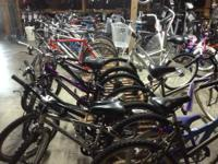 We have a good stock of USED bikes.  Most are road,