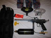 Spyder xtra paintball gun with upgraded barrel Barrel