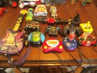 I have 13 plug in play T.V games and 1 leap frog twist