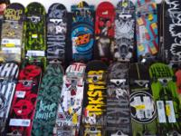 I have A Lot of skateboards to select from. Many boards