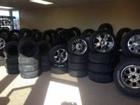 I have lots of tires for sale new and used all sizes