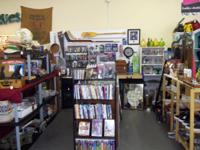 Come see our option of DVD's, CD's, Blue Rays,