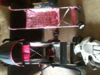 these are the items i have: flower stroller-5.00 jeep