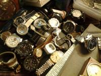 I HAVE A VERY LARGE LOT OF WATCHES FOR MEN AND WOMEN