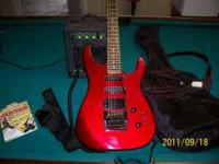 Lotus Electric Guitar , Like new used very little ready