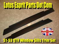 Description Lotus Esprit S1- S3 Qtr Window Sills Trim -