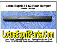 Lotus Esprit S1 S2 Rear Bumper (Federal Version)