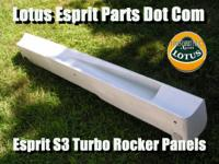 Description Lotus Esprit S3 Rocker Panels Sills - Lotus