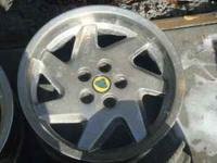 Lotus rims for sale. They are two different sizes rims.