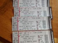 I have 4: tickets to the louder than life music