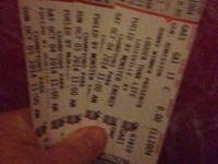 2 Saturday and 2 Sunday GA louder than life tickets