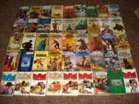 Hello, For sale I have about 35 louie Lamour books for