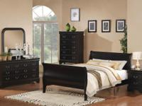 This beautifull bedroom suite is available in a warm